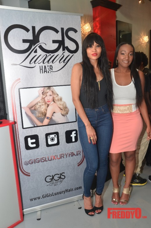Margeaux Simms Premieres Gi Gi's Luxury Hair During Atlanta Pop Up Shop