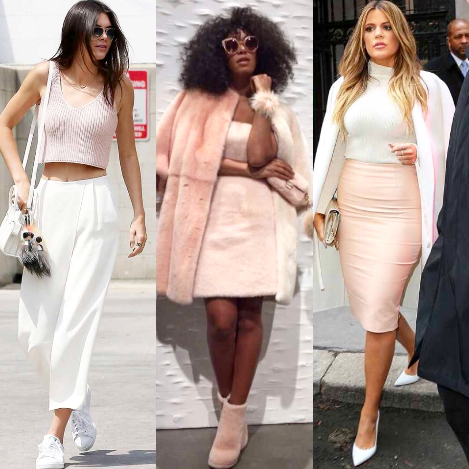 "Fashion Forward: Celebs Rock New Trendy Spring Color ""Rose Quartz"""