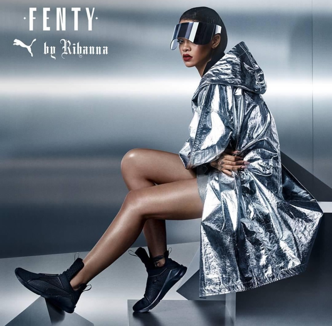 Rihanna Launches New Fenty x Puma Sneaker