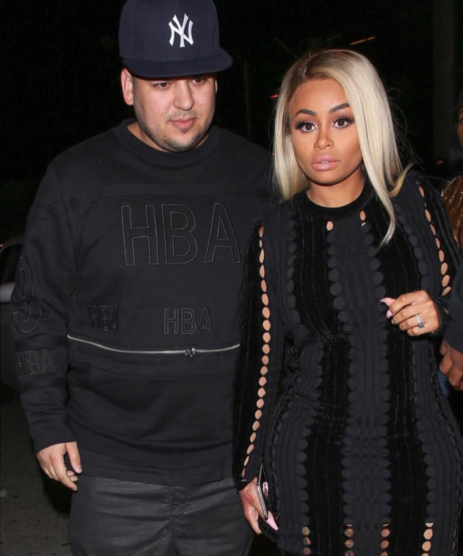 Talks Of Possible Reality Show: Blac Chyna And Rob Kardashian