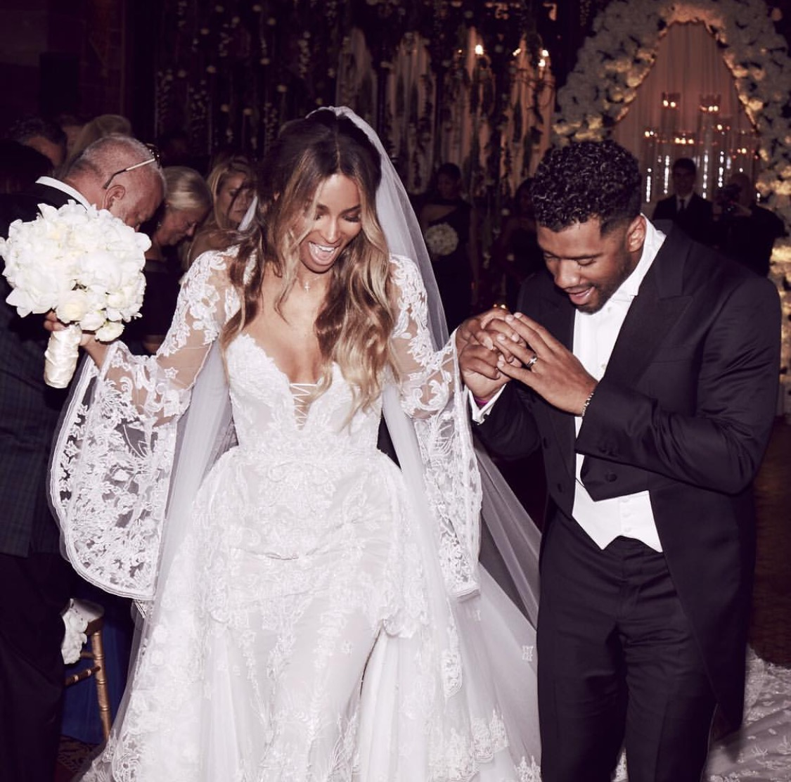 Russell Wilson Shares Fave Moment From His Wedding Day + Talks Of Starting A Family