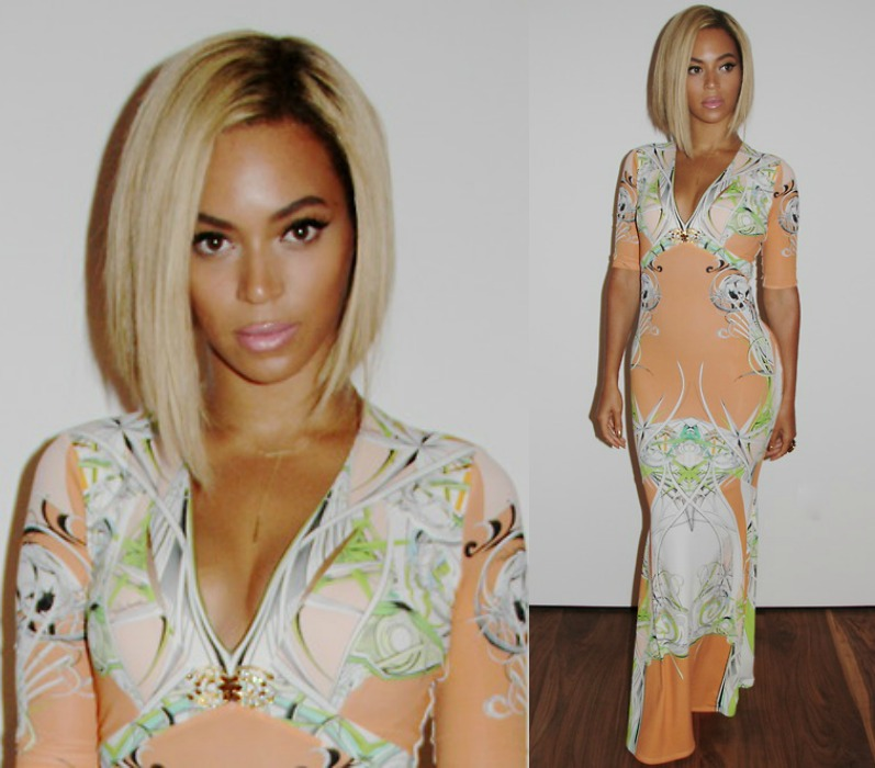 Beyonce Looks Stunning In Blonde Bob And Has Plans On Changing Hair Again Soon