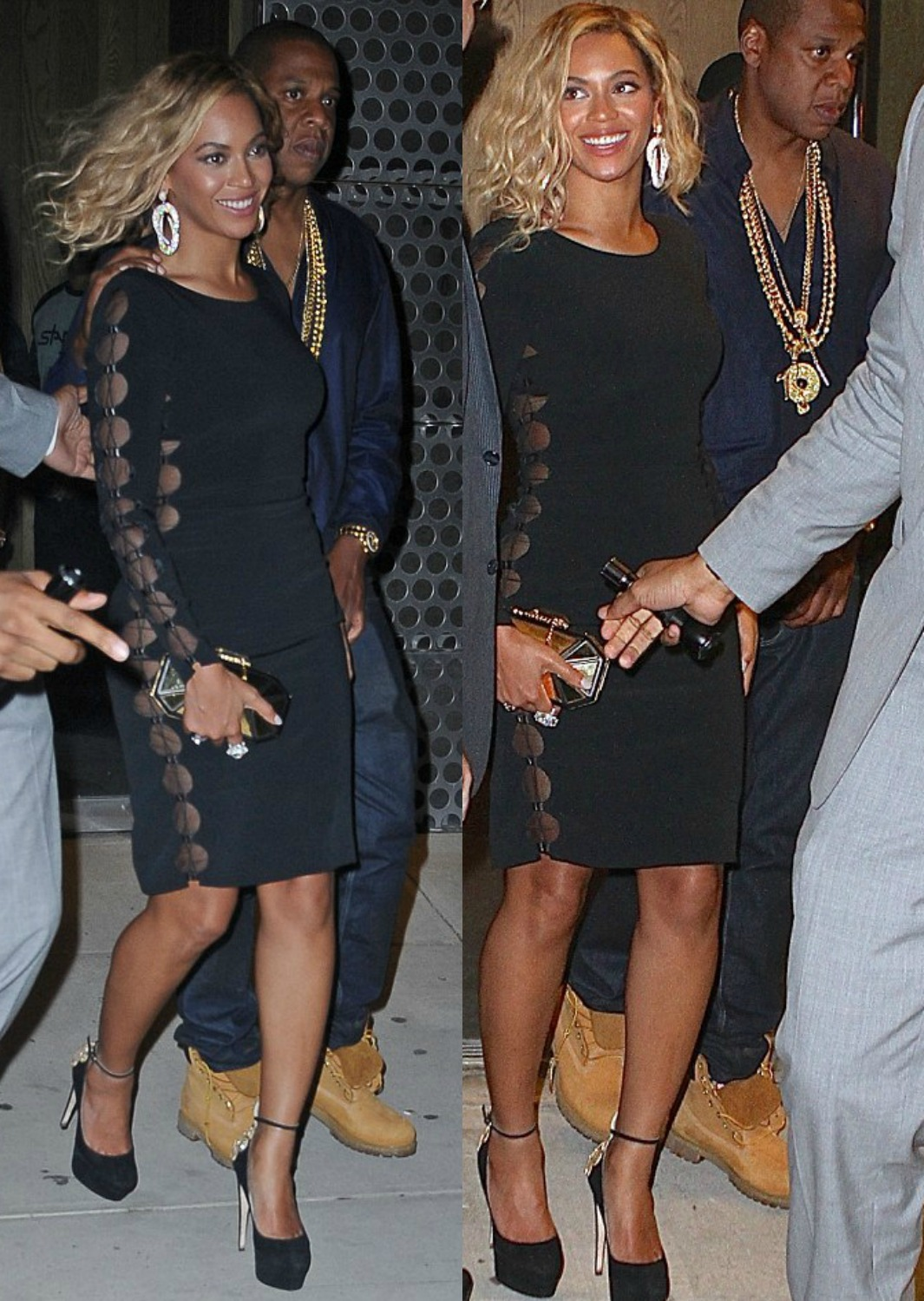 Beyonce And Jay-Z Breaks Up Fight Between J. Cole And P. Diddy At VMA After Party