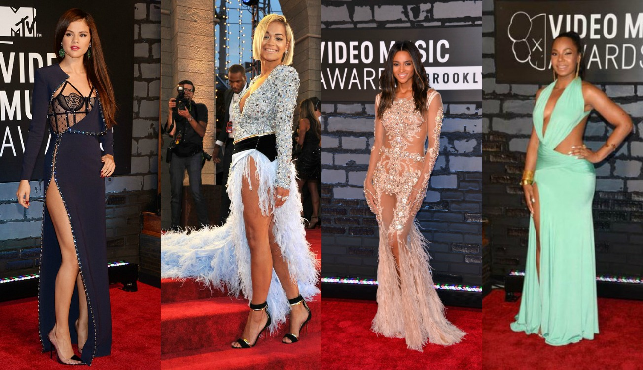 Red Carpet Edition: Celebrities Attend Video Music Awards
