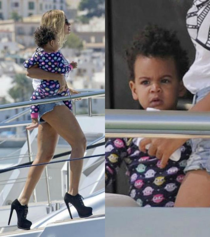 Beyonce, Blue Ivy And Jay-Z Head To Spain After Made In America Festival