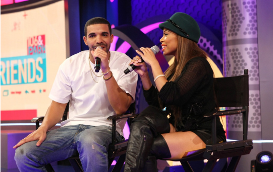 Drake Flirts With His Ex-Girlfriend And New Host Keshia Chante On Set Of 106 & Park