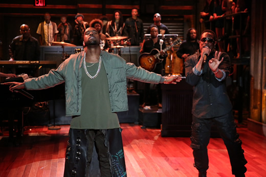 """Kanye West Refers To Ray J As A Girl On Jimmy Fallon Show: """"Brandy's Little Sister Lame"""""""
