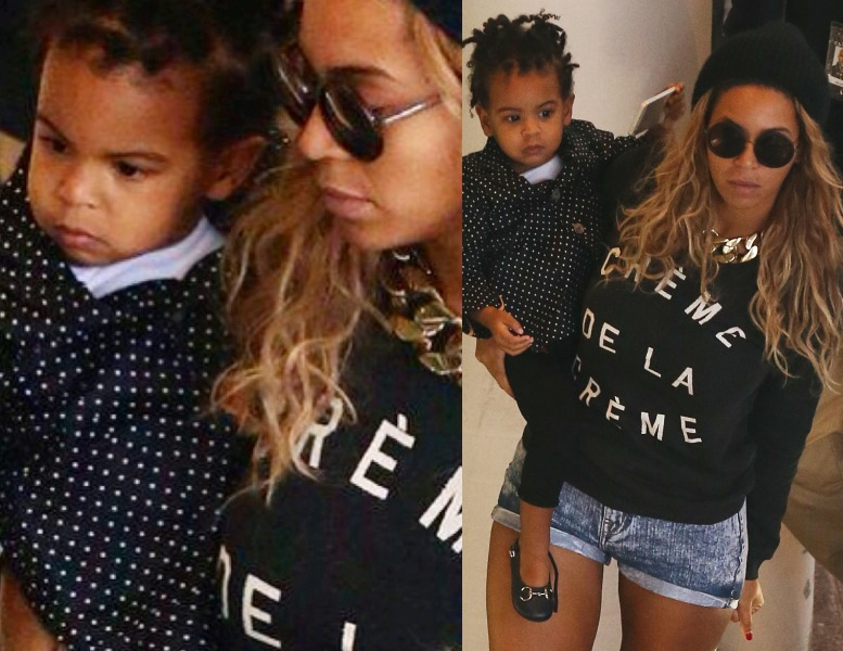 Blue Ivy Rocks New Hairstyle While Kicking It With Beyonce In Australia