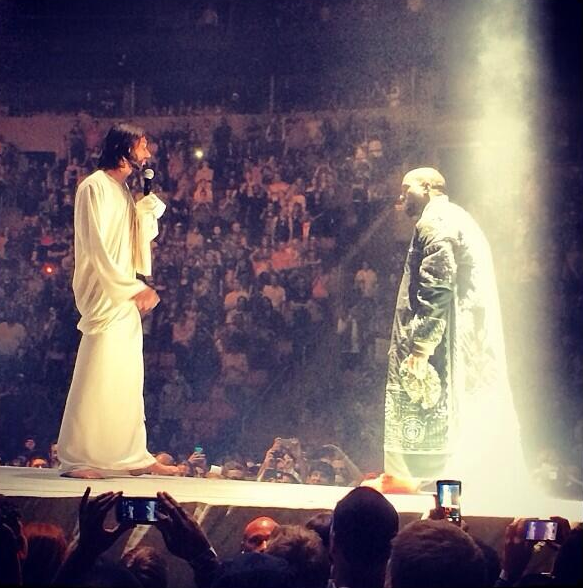 Watch: Kanye West Brings Jesus Christ Out On Stage During Concert In Seattle