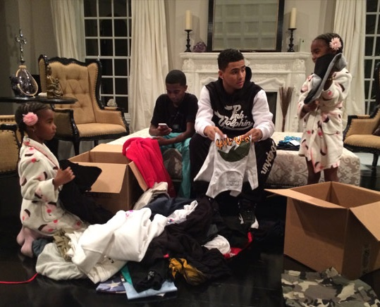 Diddy's Children Give Back To Philippines Typhoon Victims