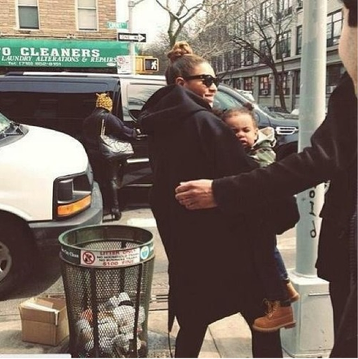"""Beyonce Dedicates New Song To Blue Ivy: """"God Made You Beautiful"""""""