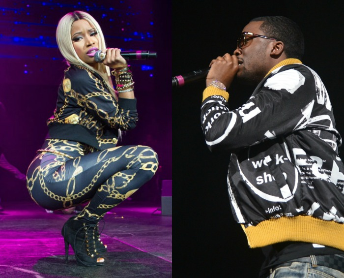 How Ironic? Frenemies Meek Mill And Kendrick Lamar Brings Nicki Minaj And Lil Kim Out To Perform With Them At Powerhouse Concert