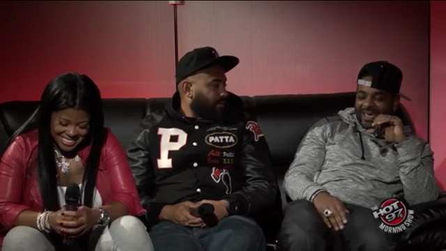 Jim Jones Tattoos Chrissy's Face On His Arm + Chrissy And Jim Talks Wedding Plans With Hot 97