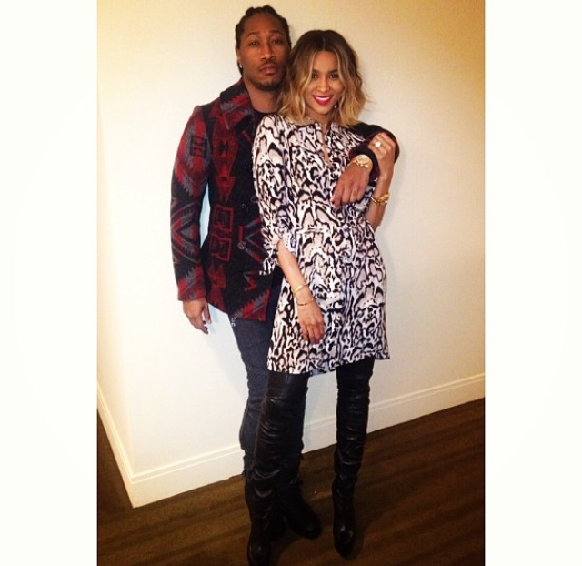 Ciara Throws Surprise Birthday Dinner For Future At Mr. Chow