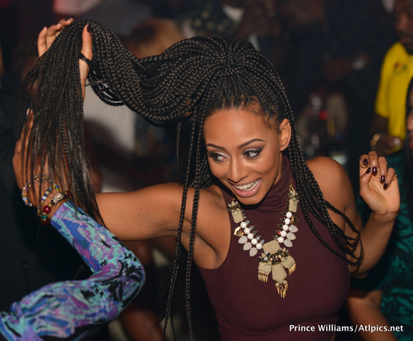 Keri Hilson Serves Box Braids, Fur And Leather For 31st Birthday Party