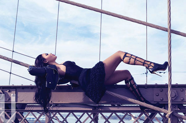 """Angela Simmons """"Gets Sultry"""" for Uptown Magazine"""