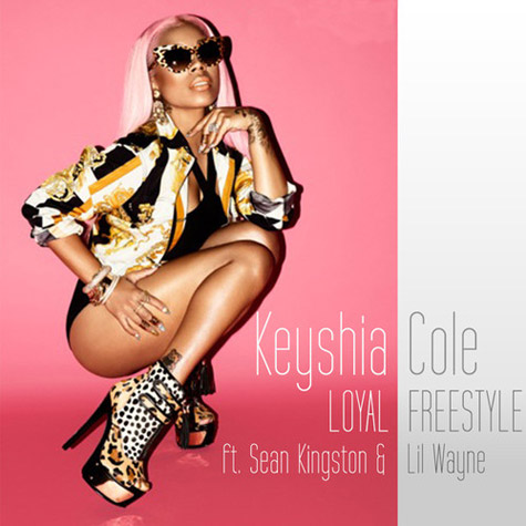 """Keyshia Cole Gets Personal In New """"Loyal"""" Freestyle Featuring Lil Wayne And Sean Kingston"""
