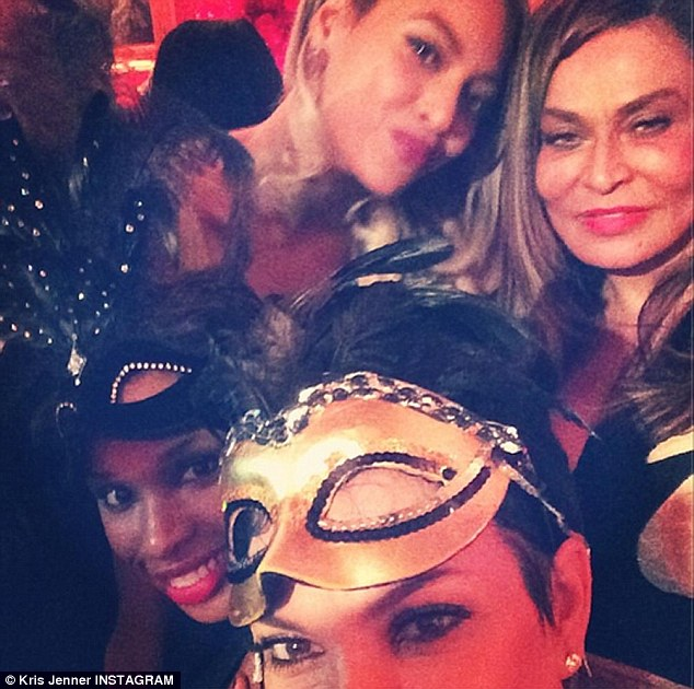 Celebrities Attend Tina Knowles Masquerade Ball: Beyonce, Jay-Z, Solange, Kris Jenner, Monica, Kelly Rowland And More