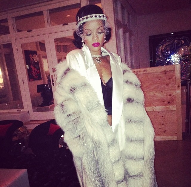 Celebrities Who Turnt Up For New Year's 2014: Rihanna, Beyonce, Jay-Z, Meek Mill, Karrueche, Chris Brown, Drake, P. Diddy, Dwyane Wade, Gabrielle Union And More