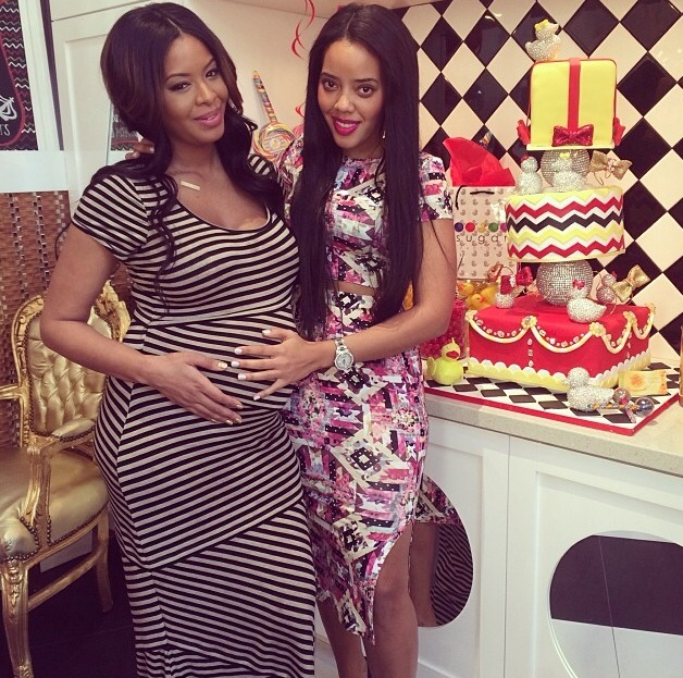 Vanessa Simmons And Mike Wayans Hosts Rubber Duckie Themed Baby Shower