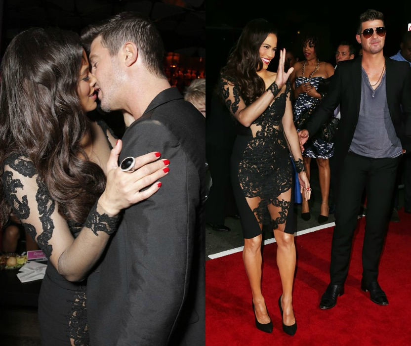 Is Robin Thicke's Questionable Infidelity The Cause Of He And Paula's Seperation?
