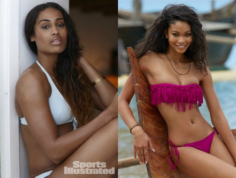 Beauty And The Beach: Skylar Diggins And Chanel Iman Strike A Pose For Sports Illustrated Swimsuit Edition