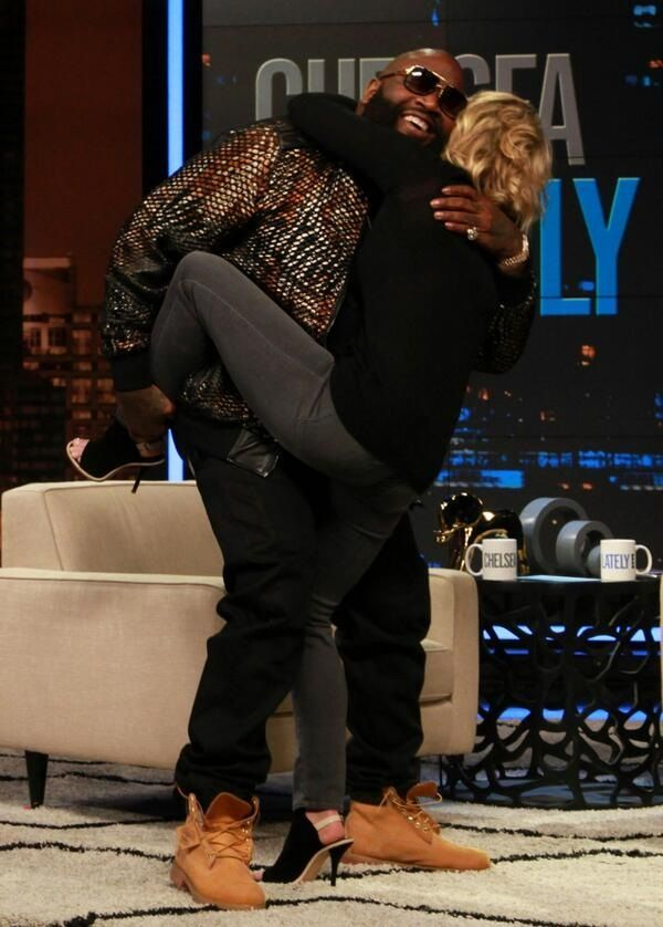 Rick Ross On Chelsea Lately Show: Brushes 50 Cent Question Off And Talks Having A Personal Female Blunt Roller