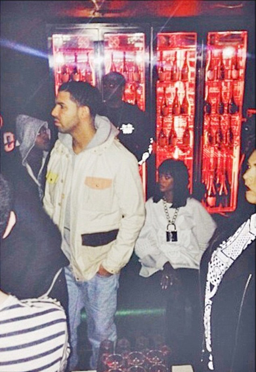 Drake Wants Rihanna To Stay: The Two Party In London Together Until 5 AM