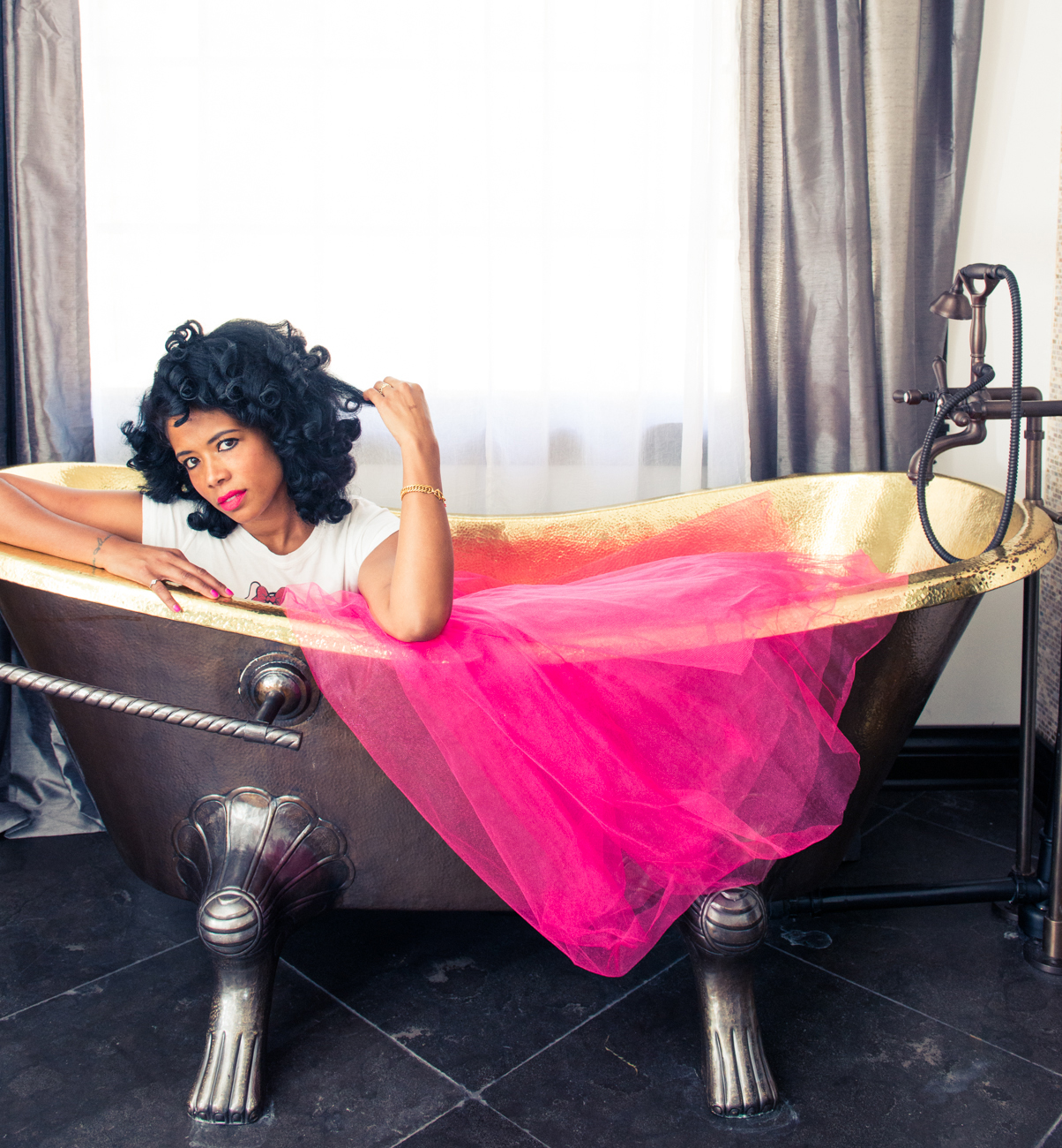 Kelis Reflects On Divorce With Nas And Slays In Pink Tu-Tu For The Coveteur