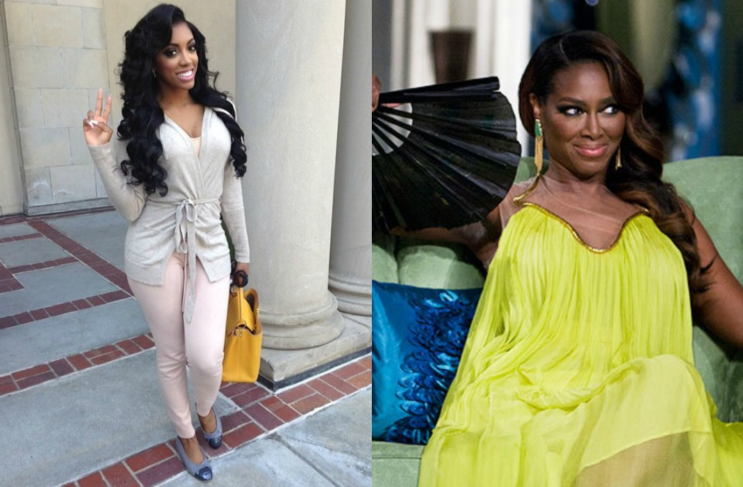 Cat Fight! Did Kenya Moore Get Beat Up By Porsha At RHOA Reunion Taping?