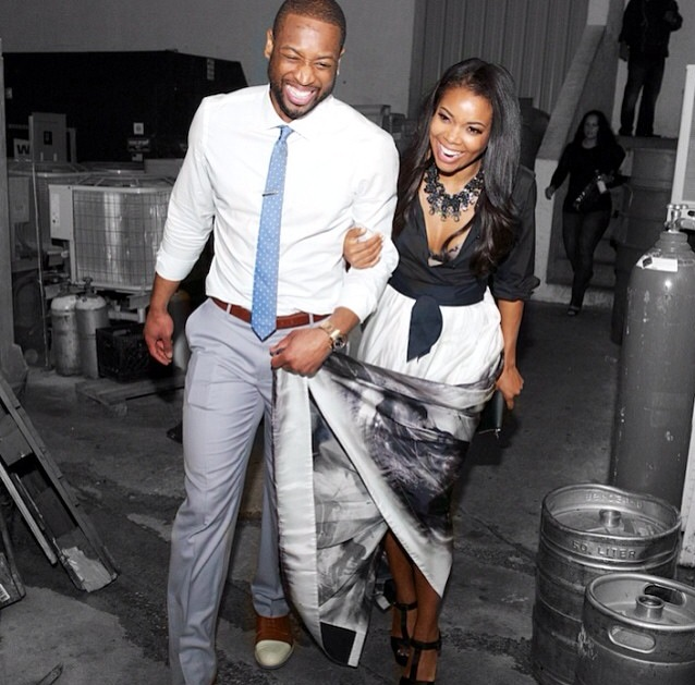 Gabrielle Union and Dwyane Wade Host Engagement Party In Miami