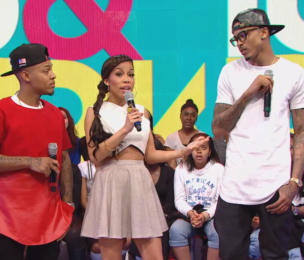 """August Alsina Lashes Out On 106 & Park Host When Asked About Trey Songz Beef: """"I Just Told Ya'll Not To Ask Me That Sh-t"""""""