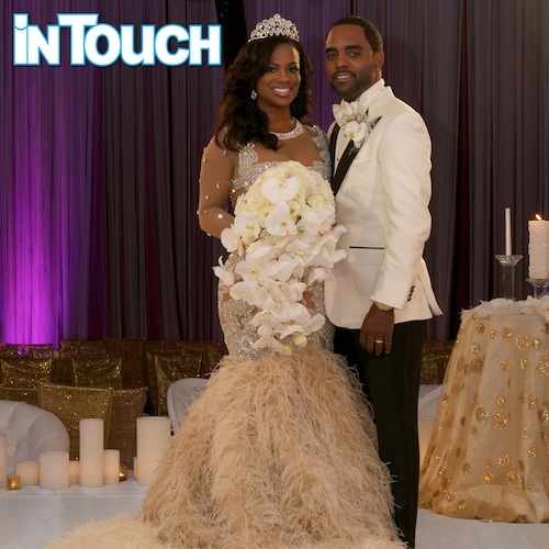 Kandi Burruss And Todd Tucker First Ever Wedding Photos Released By In Touch Magazine + Inside Scoop On Wedding