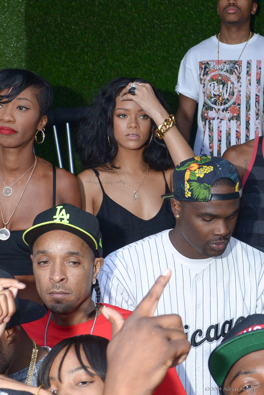 Celebs Attend Jumping Toxic Day Party: Rihanna, Trey Songz, The Game, Tae Heckard, Brandon Jennings, Nikko, Mimi And More