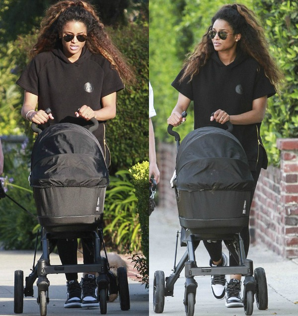 Ciara Spotted For The First Time Since Giving Birth To Newborn Son