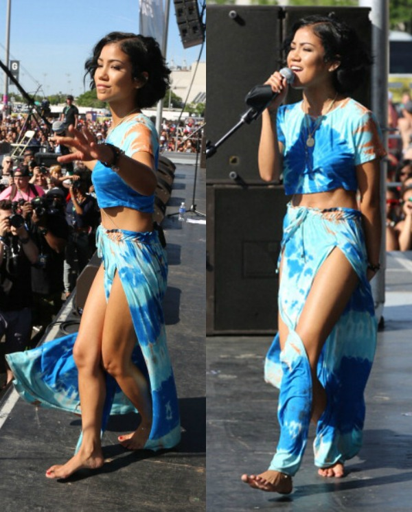 Jhene Aiko Gets Twitter Gangster After Being Accused Of Being Drunk During Summer Jam Performance