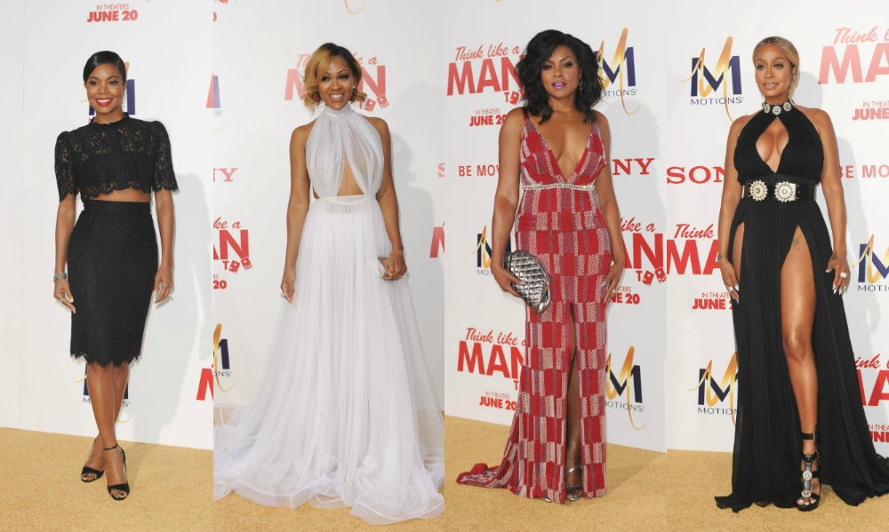 "Red Carpet Slayage: Celebrities Attend Hollywood's ""Think Like A Man Too"" Movie Premiere"