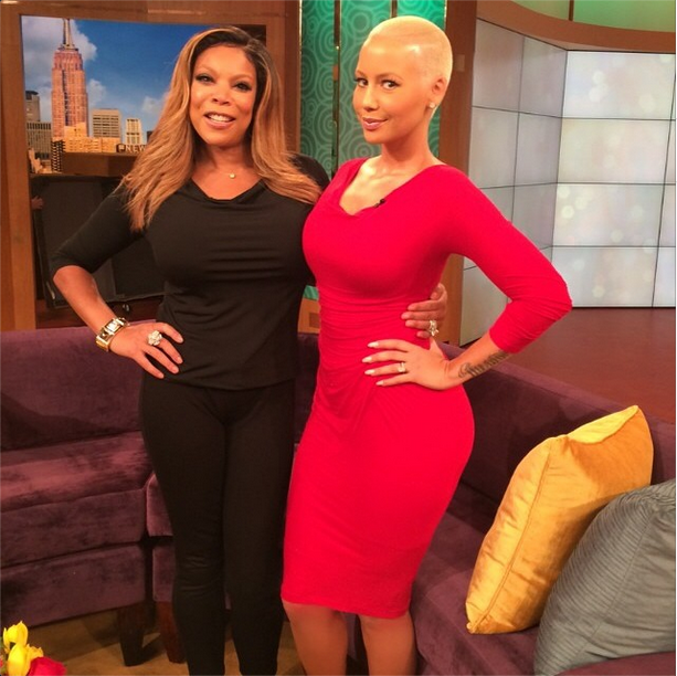 Amber Tells Wendy Williams She's Glad She Escaped Kanye West