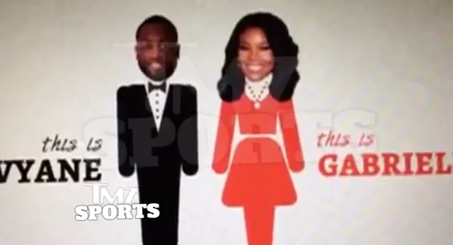 Watch Gabrielle Union And Dwyane Wade's Save The Date Video