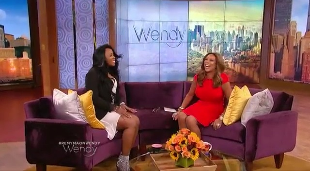 Remy Ma Visits Wendy Williams Show: Talks Life After Prison, Music And More