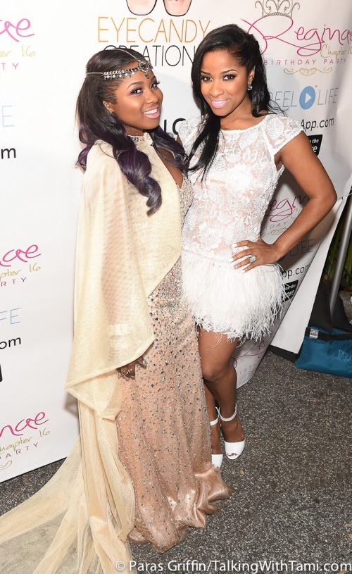 Lil Wayne And Toya Wright Goes All Out For Reginae Carter's Sweet 16 Birthday Bash