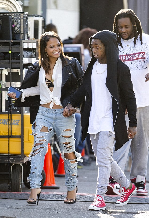 "Oh Sh-t! Christina Milian Gushes Over Lil' Wayne In Interview: ""I Love Him,"""